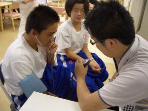 デイサービス 7 血圧測定