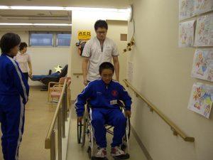 【修正】デイサービス 21 車椅子体験