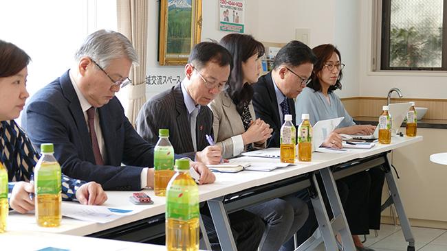 小規模多機能施設に韓国視察